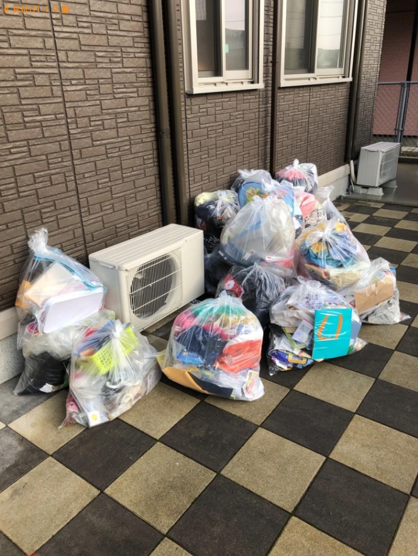 【下関市王喜本町】カラーボックス、掃除機、一般ごみ等の回収