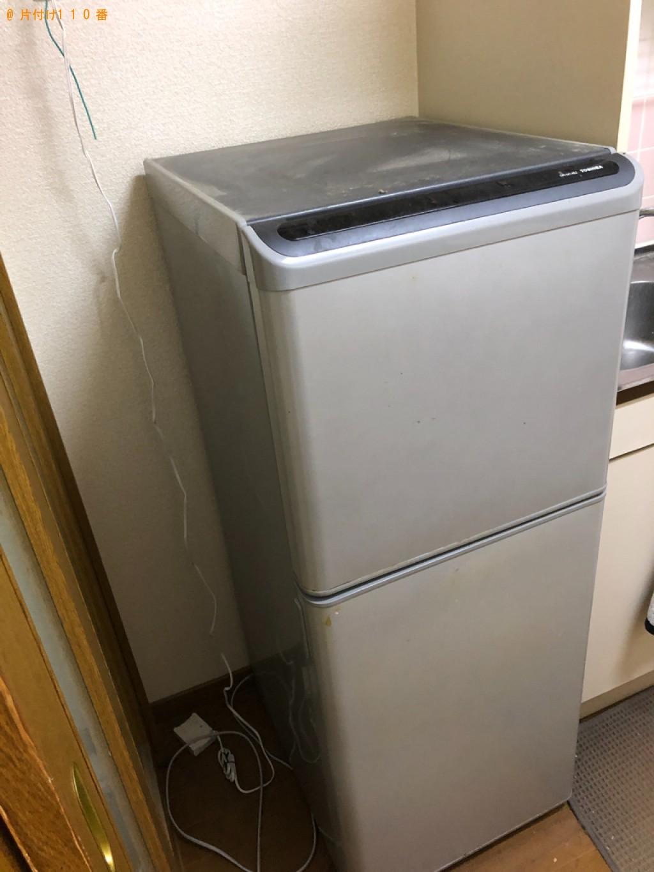 【下関市伊倉東町】冷蔵庫、テレビ、タンス、ソファーベッド等の回収