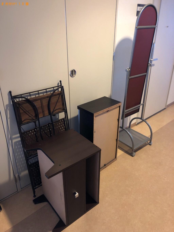 【光市】スタンドミラー、本棚、ラック、テレビ台の回収・処分ご依頼