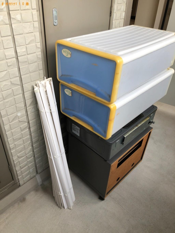 【下関市】テレビ台、ガスコンロ、収納ケース等の回収・処分ご依頼
