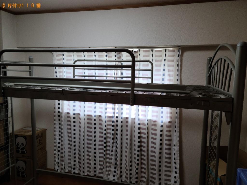 【下関市】学習机、椅子、ロフトベッド、PCモニタの回収・処分