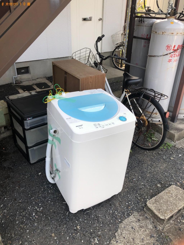 【下関市吉見竜王町】洗濯機、本棚、自転車の回収・処分ご依頼