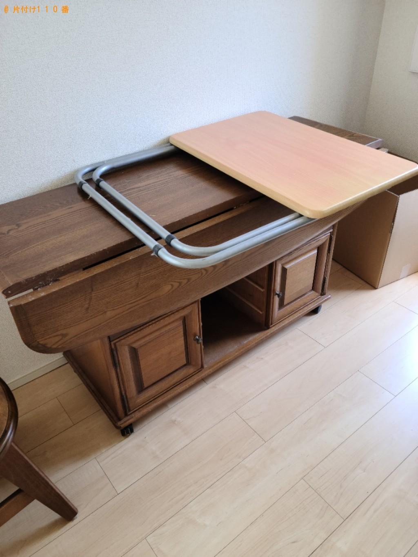 【防府市】テーブルの回収・処分ご依頼 お客様の声