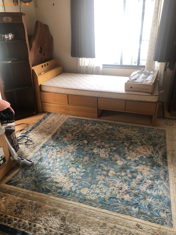 【周南市】三角コーナーの回収と家具の配置換えの手伝いご依頼