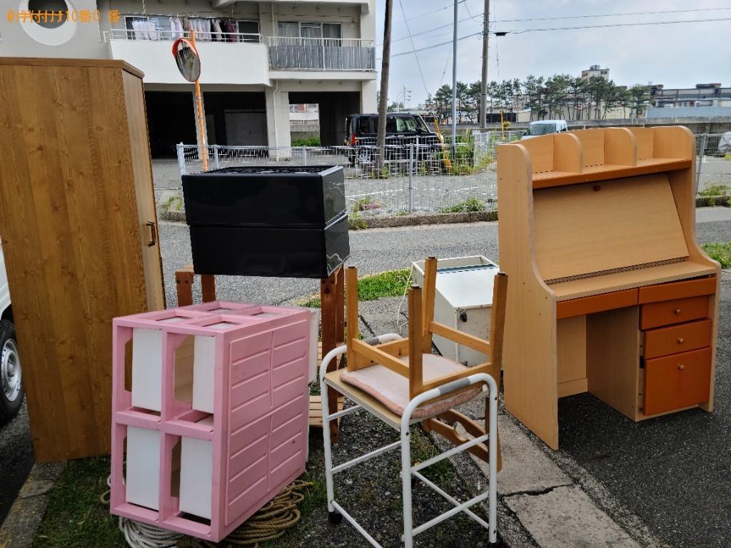【下関市長府東侍町】エアコン、本棚、クローゼット、椅子等の回収
