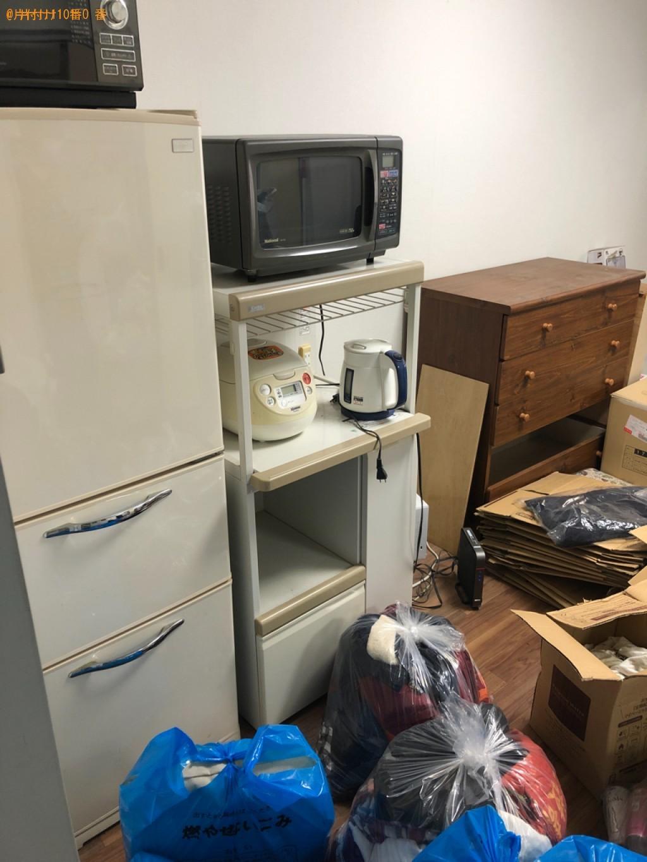 【周南市梅園町】冷蔵庫、タンス、一般ごみ、ローテーブル等の回収