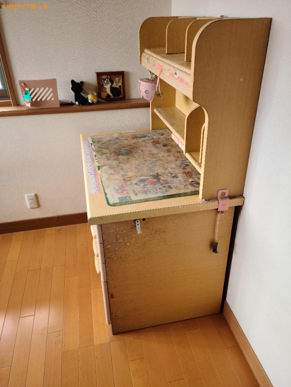 【下関市】学習机、冷蔵庫の回収・処分ご依頼 お客様の声