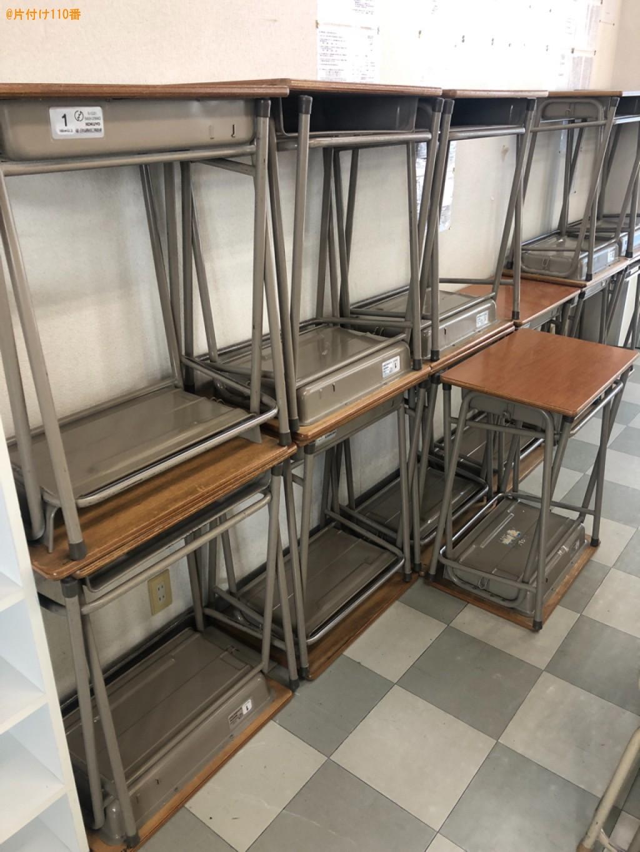【周南市二番町】机、椅子の回収・処分ご依頼 お客様の声