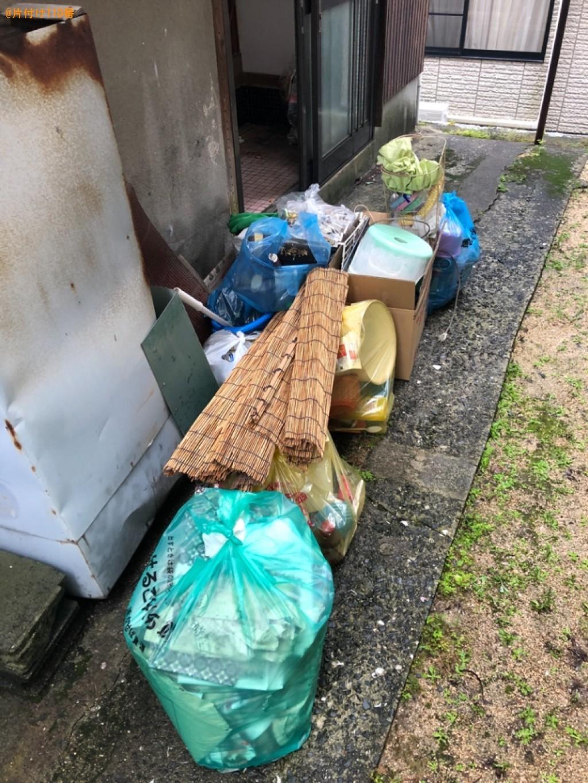 【周南市】カーテンレール、一般ごみ、バケツ、掃除機等の回収・処分