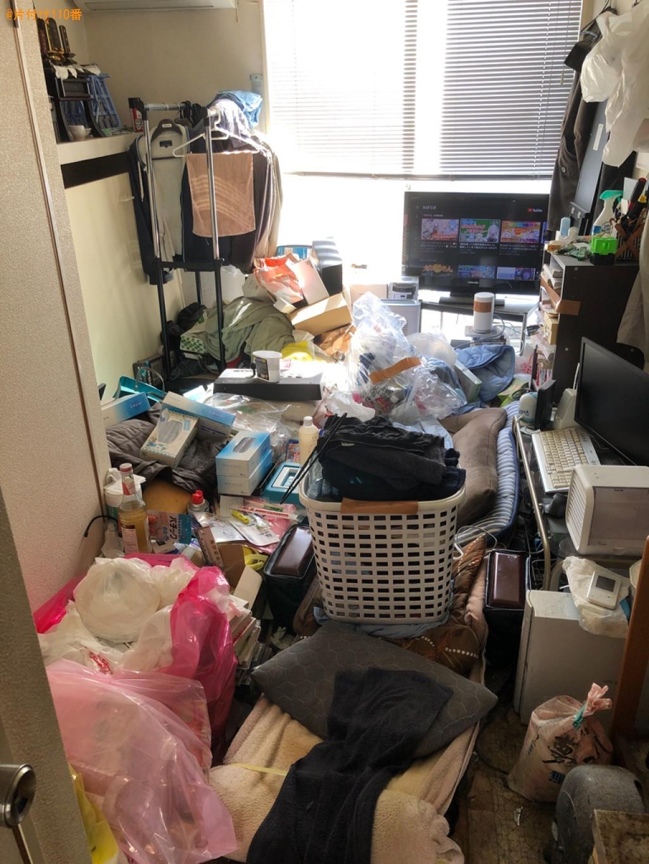 【下関市】一般ごみ、カゴ、布団、ポールハンガー、衣類等の回収