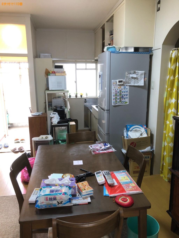 【下関市新地町】エアコン、冷蔵庫、ダイニングテーブル等の回収
