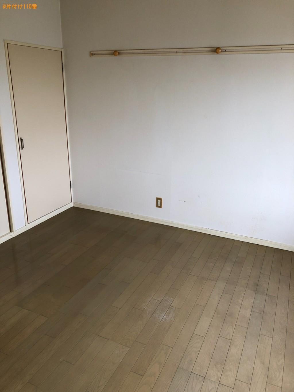 【下松市】冷蔵庫、エアコン、洗濯機、タンス、収納ケース等の回収