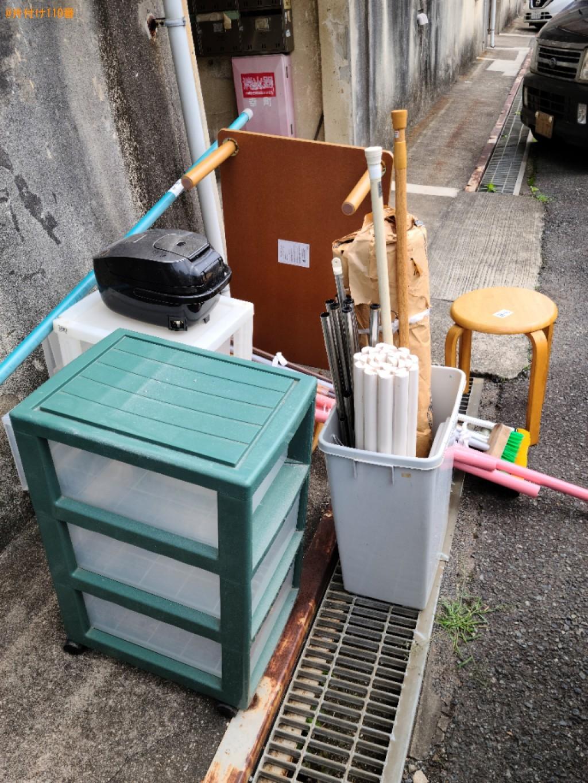 【下関市幸町】物干しざお、ローテーブル、ごみ箱等の回収・処分