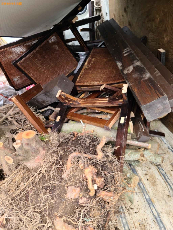 【宇部市】木材の回収・処分ご依頼 お客様の声