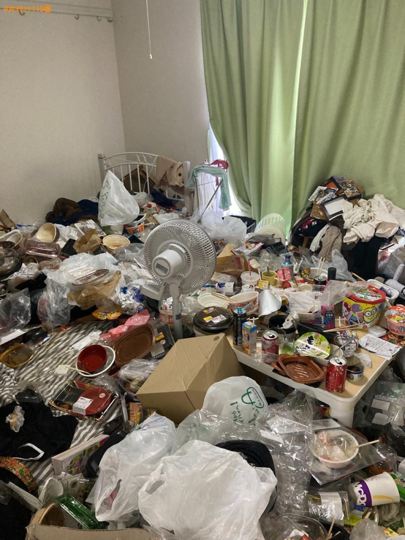 【宇部市】大量の一般ごみの回収・処分ご依頼 お客様の声