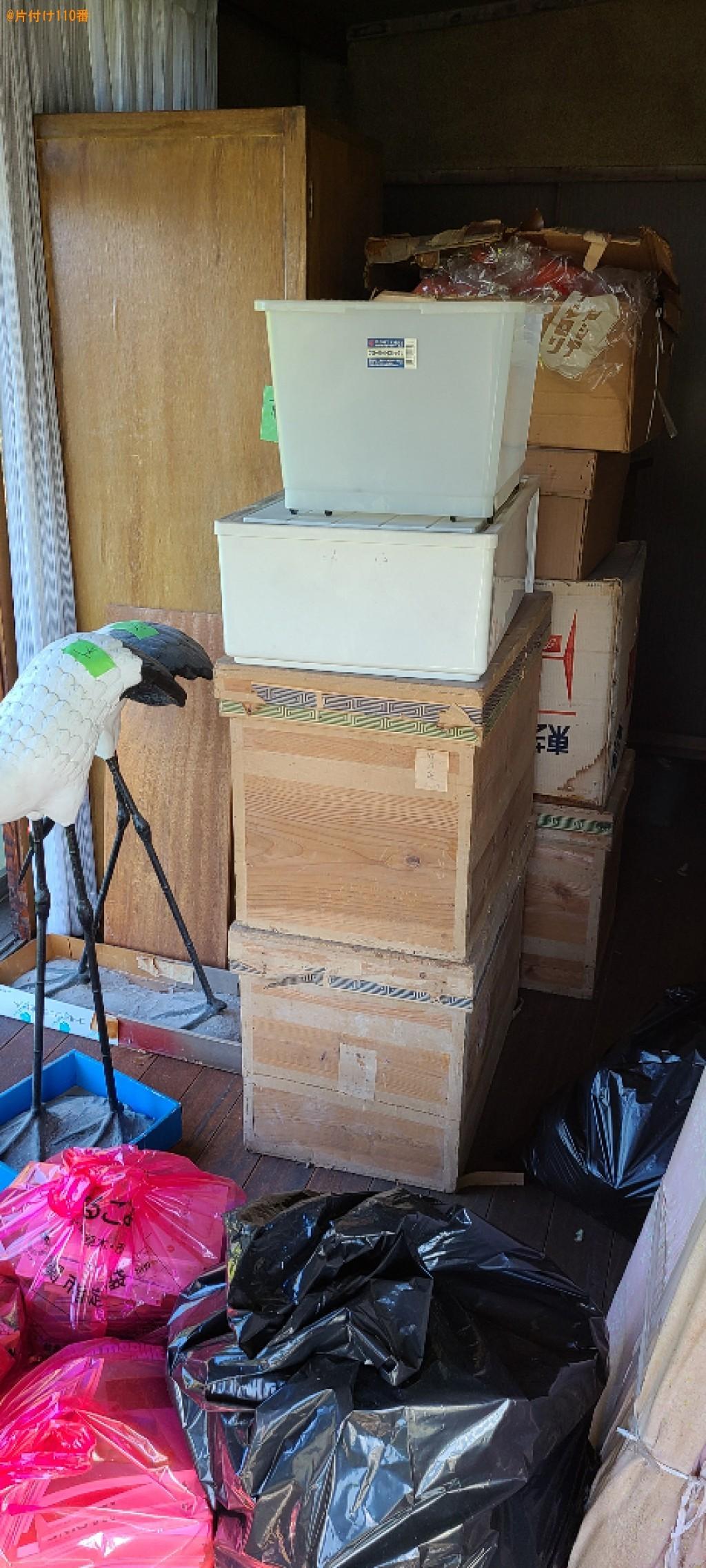 【下関市彦島迫町】衣類収納ケース、タンス、箱、一般ごみ等の回収